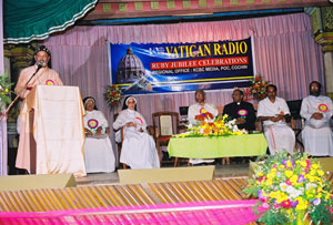 Bishop Joshua  Ignatios addressing Public Meet